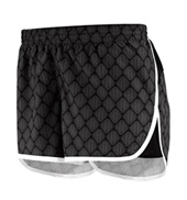 Juniors Plus Size Low Rise Workout Shorts