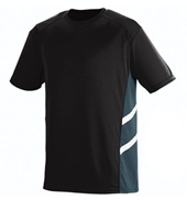 Adult Plus Size Mesh Insert T-Shirt