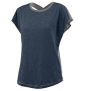 Ladies Short Sleeve X-Back T-Shirt