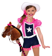 Child Rodeo Stretch Denim Costume Overalls