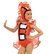 Child Just Keep Swimming Character Costume Halter Leotard Set