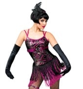 Adult I Gotcha Camisole Flapper Dress Costume Set
