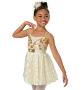 Child Daughter Camisole Lyrical Costume Dress