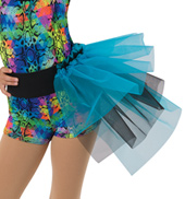 Child We Got Fun Neon 3-Tier Costume Bustle