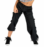 Adult Unisex Cargo Pants with Drawstring Waist