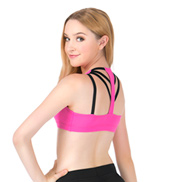 Adult Elastic Back Tank Bra Top