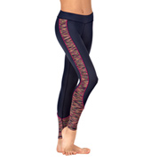 Girls Space Dye Spliced Leggings