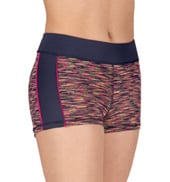 Adult Space Dye Spliced Shorts
