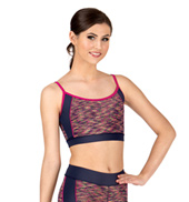 Adult Space Dye Camisole Bra Top