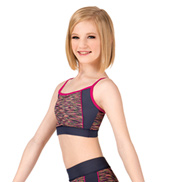Girls Space Dye Camisole Bra Top