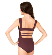 Adult Lattice Back Tank Leotard