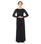 Womens Plus Size Circle Worship Dress