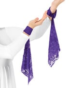Womens Plus Size Worship Wrist Drape