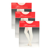 Adult Basic Footed Fishnet Tight 3 Pack
