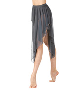 Adult Convertible High-Low Dance Skirt