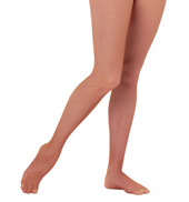 Adult Seamless Fishnet Footed Tights