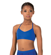 Child Skimpy Halter Dance Bra Top