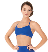 Adult Skimpy Halter Dance Bra Top