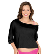 Adult Oversized Long Sleeve Top With Cuffs
