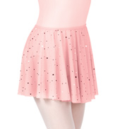 Girls Star Mesh Pull-On Skirt