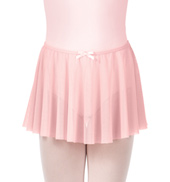 Girls Mesh Pull-On Skirt