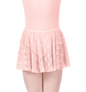 Girls Sweet Lace Pull-On Skirt