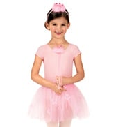 Girls Flower Tutu Set