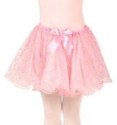 Girls Jules Glitter Dot Wire Hem Tutu