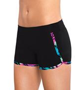 Girls Wrap Around Cheer Shorts