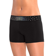 Adult Sparkle & Shine Cheer Shorts
