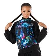 Spandex Galaxy Pullover