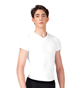 Mens Short Sleeve V-Neck T-Shirt