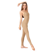 Adult Cotton Pinch Front Camisole Unitard