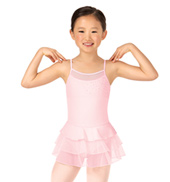 Child Iota Camisole Rhinestone 3-Layer Ballet Dress