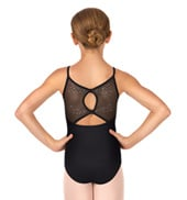 Child Mizar Camisole Rhinestone Bow Back Leotard