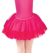 Girls Addelyn Heart Mesh Ballet Tutu