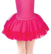 Girls Addelyn Heart Mesh Ballet Tutu