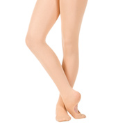 Girls Classic Mesh Seamed Convertible Dance Tights