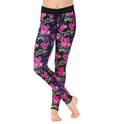 Sublimated Floral Legging