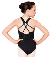 Child Strappy Back Tank Leotard