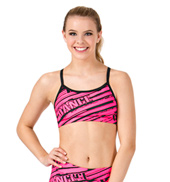 Adult Sublimated Dance Camisole Bra Top