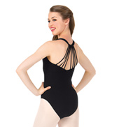 Womens Multi-Strap Back Tank Leotard