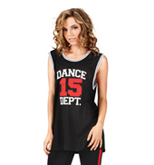 Adult Mesh Dance Dept Jersey
