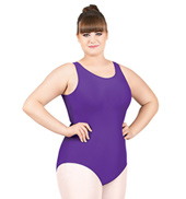 Adult Plus Size Tank Dance Leotard