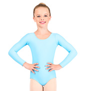 Child Long Sleeve Dance Leotard