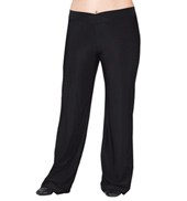 Adult Plus Size V-Front Jazz Pants