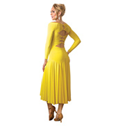 Adult Long Sleeve Long Ballroom Dress