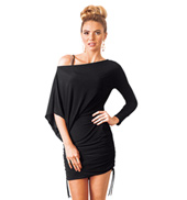Adult Long Sleeve Short Sack Ballroom Dress
