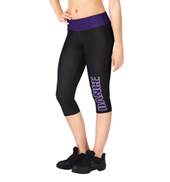 Adult Sublimated Dance Capri Pant