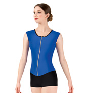 Adult Bolshoi Stars Collection Mesh Insert Tank Unitard